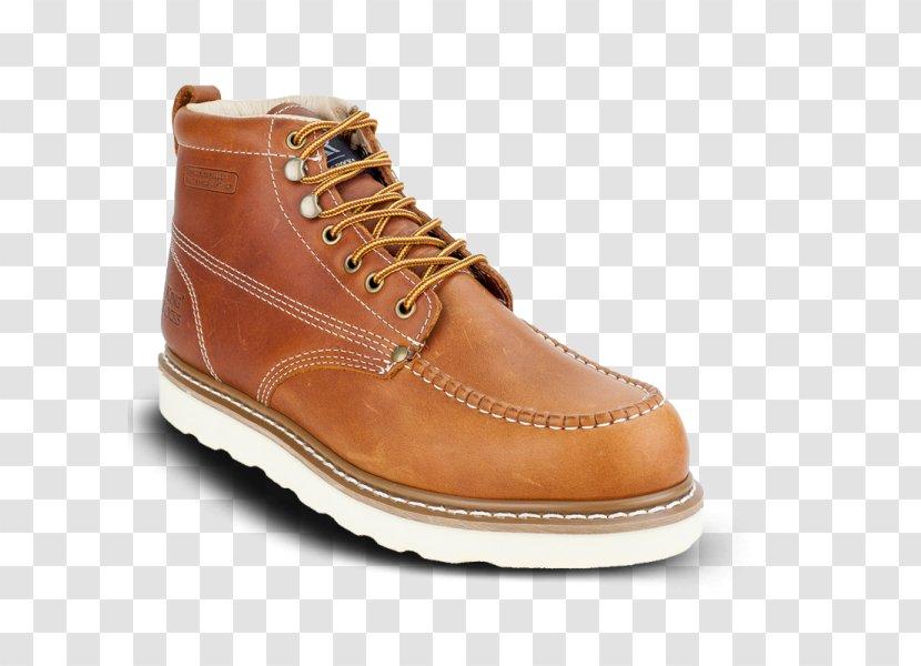 Steel-toe Boot Wedge Moccasin Shoe