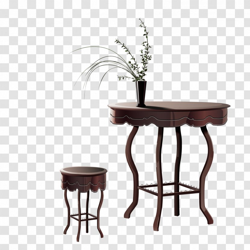 Table Furniture Chair Wood - Wooden Tables And Chairs Transparent PNG