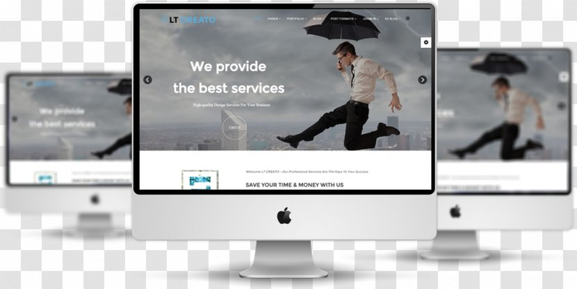 Responsive Web Design Template System Joomla Free Software Creative Templates Transparent Png
