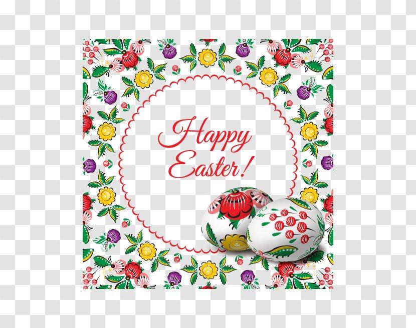 Easter Egg Illustration - Text - Eggs Transparent PNG