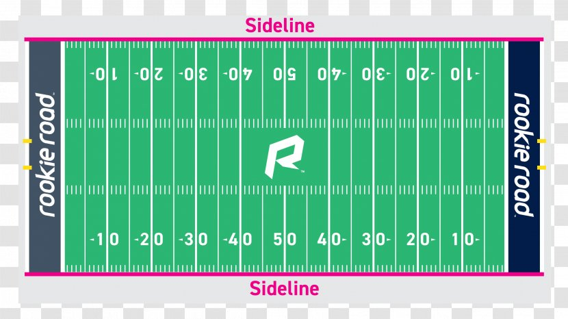 NFL Hash Marks American Football Field Pitch - Brand Transparent PNG