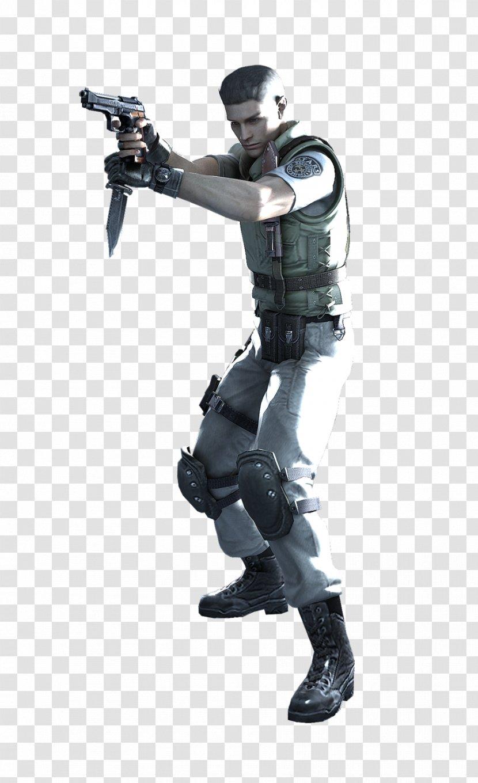 Resident Evil The Umbrella Chronicles Evil 5 6 Chris Redfield Action Figure Revelations Transparent Png