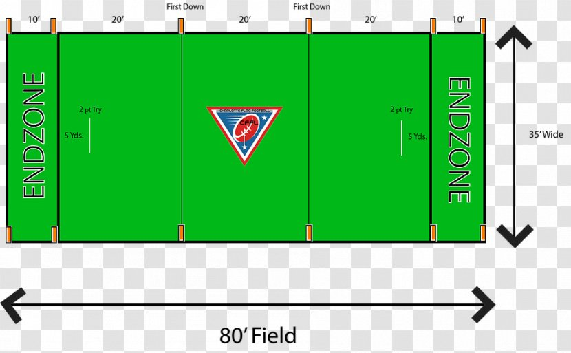 American Football Field Flag Pitch Sport Transparent PNG
