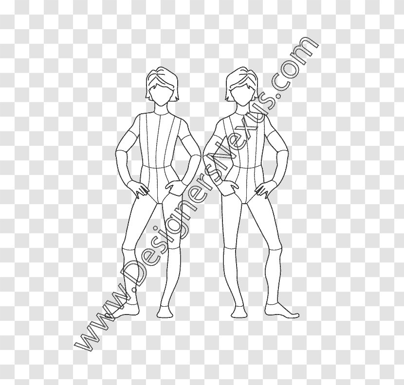 Fashion Illustration Croquis Drawing Sketch Point Kids Transparent Png