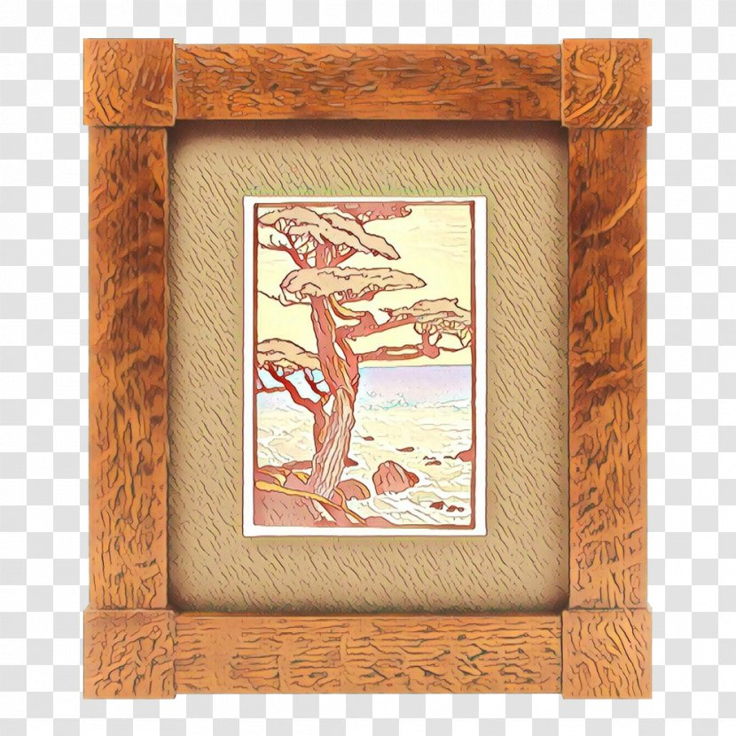 Wood Frame - Picture - Hummingbird Painting Transparent PNG