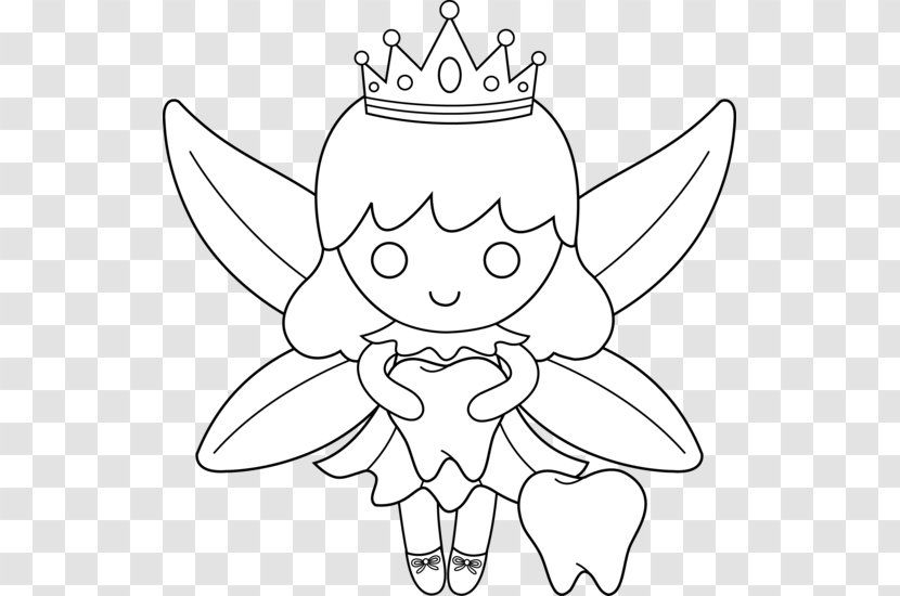 - Tooth Fairy Disney Fairies Coloring Book Clip Art - Heart Transparent PNG