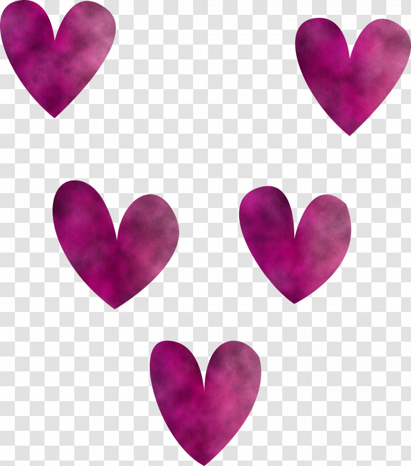 Valentines Day Happy Valentines Day Pink Heart Transparent PNG