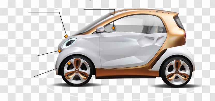 2011 Smart Fortwo Car Auto Show - Vehicle Transparent PNG