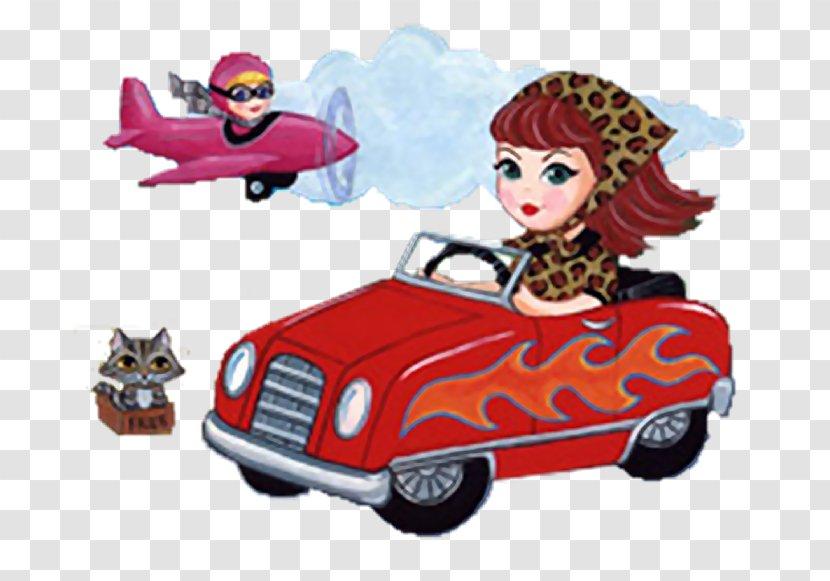 Cartoon Toy Automotive Design - Car Transparent PNG