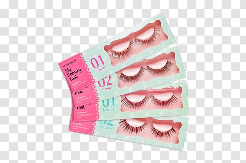 Comb Eyelash Extensions Cosmetics Etude House - Edith Abundance Of False Eyelashes Qiao Meng Transparent PNG