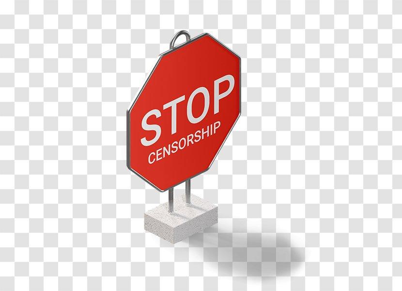 Stop Sign Logo Brand - Design Transparent PNG