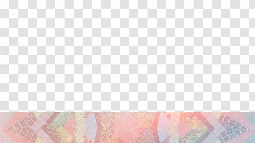 Pink M Line - Peach Transparent PNG