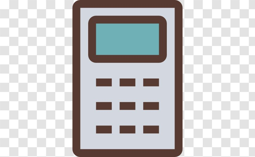 Calculator Icon Transparent - Office Equipment Transparent PNG