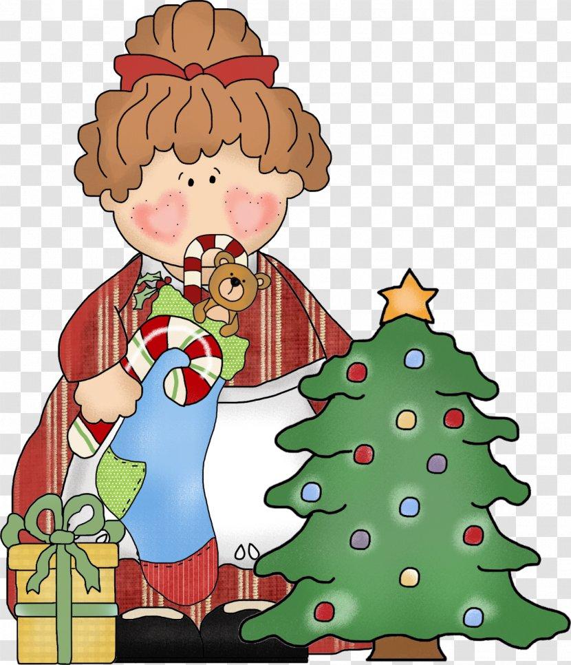Christmas Tree Santa Claus Ornament Clip Art Transparent PNG