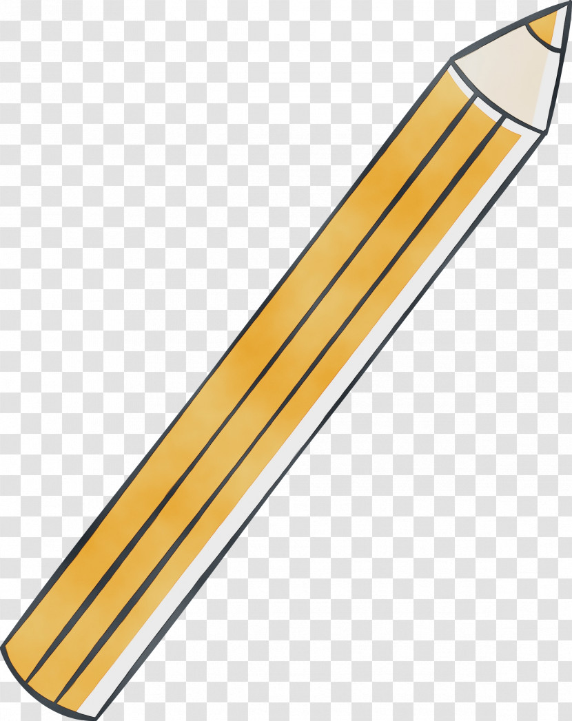 Line Angle Yellow Transparent PNG