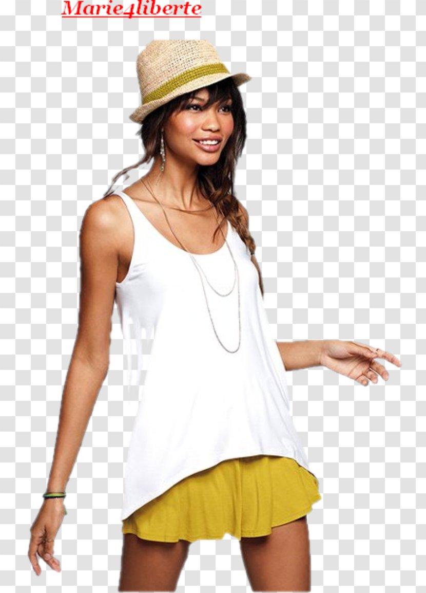 T-shirt Woman Shoulder - Frame Transparent PNG
