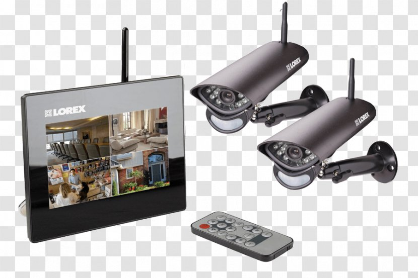 Wireless Security Camera Closed-circuit Television Alarms & Systems Home - Lorex Technology Inc Transparent PNG