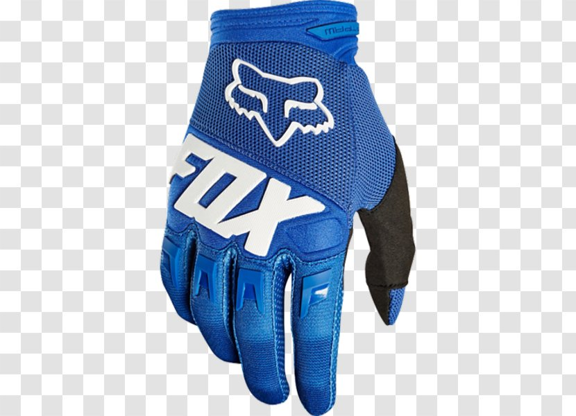 FOX Dirtpaw Race 2018 Gloves Motocross Youth Fox Racing Blue Kids MX | 2017 Collection - Orange L - Promotion Transparent PNG