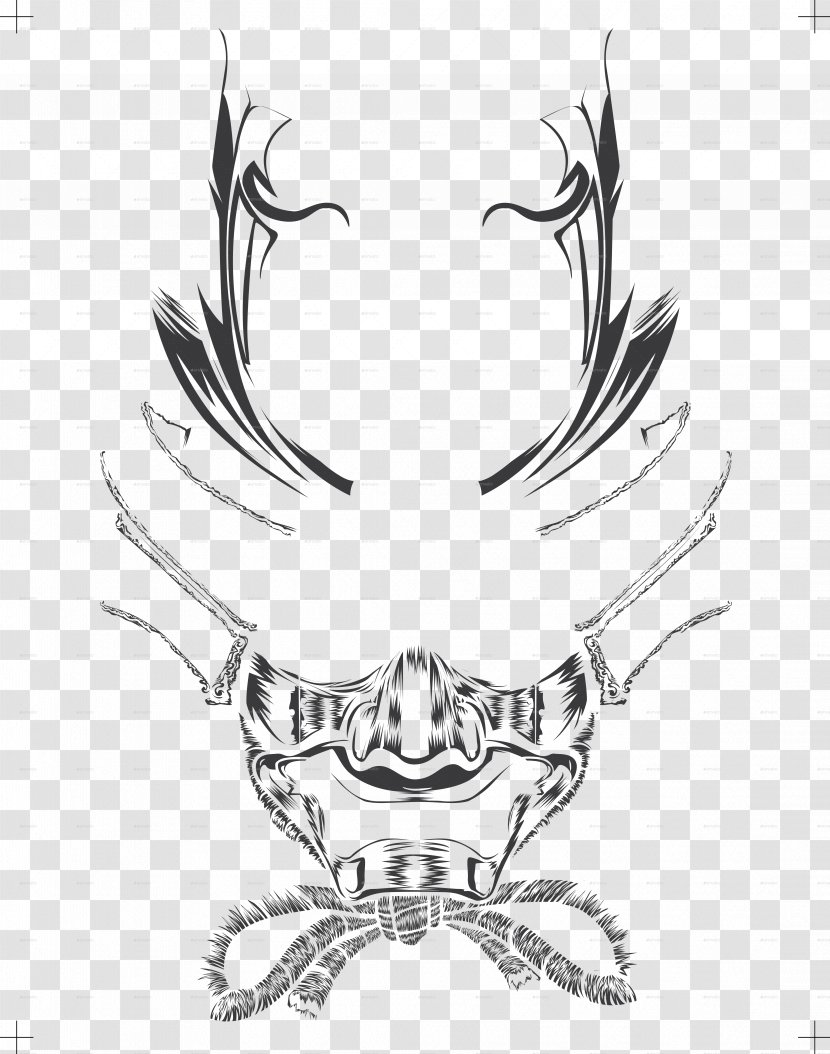 Line Art Visual Arts Sketch Monochrome Photography Samurai Tattoo Transparent Png