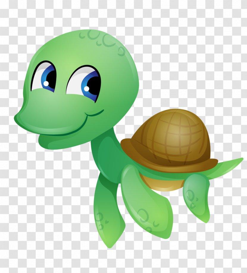 Tortoise Sea Turtle Reptile Clip Art Cuteness Cute Cartoon