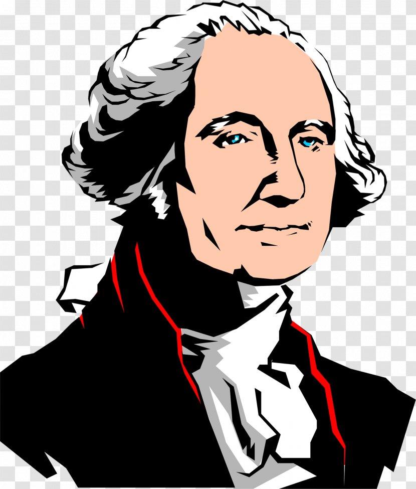 George Washington Lansdowne Portrait Clip Art - Facial Expression - Cute President Cliparts Transparent PNG