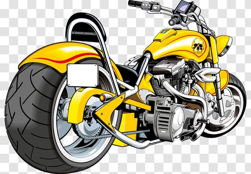 Motorbike Free Saddlebag Scooter Motorcycle Helmet - Car - Yellow Transparent PNG