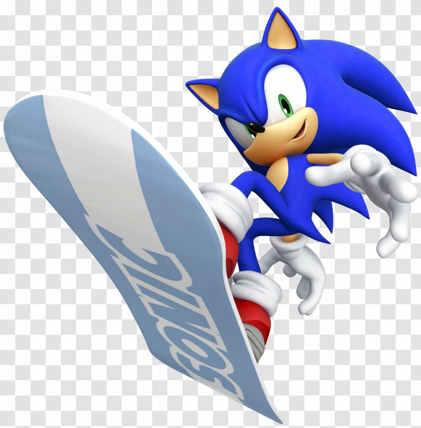Mario Sonic At The Olympic Games Sochi 2014 Winter Hedgehog Shadow Game Transparent Png