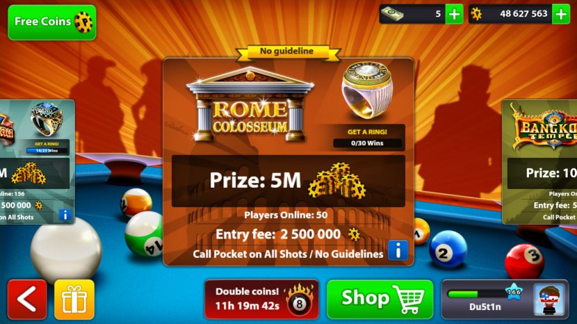 8 Ball Pool Miniclip Cue Stick Blackball Transparent Png