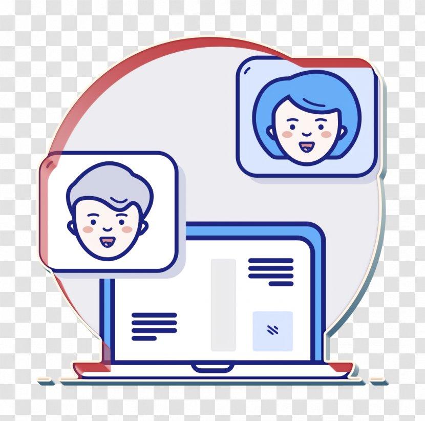 Chat Icon Conversation Laptop Text Message Transparent Png