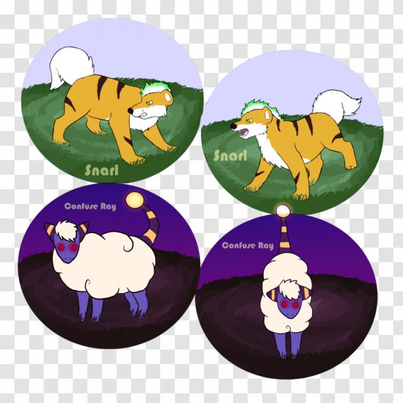 Character Fiction Animal Animated Cartoon Purple Eyes Mouth