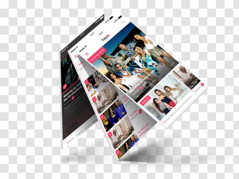 Brand Display Advertising Multimedia - Mocup Transparent PNG