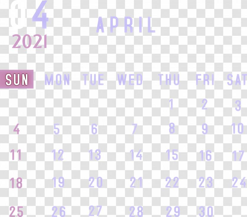 April 2021 Monthly Calendar April 2021 Printable Calendar 2021 Monthly Calendar Transparent PNG