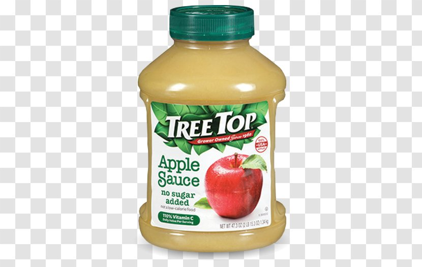 Apple Juice Sauce Tree Top Transparent PNG