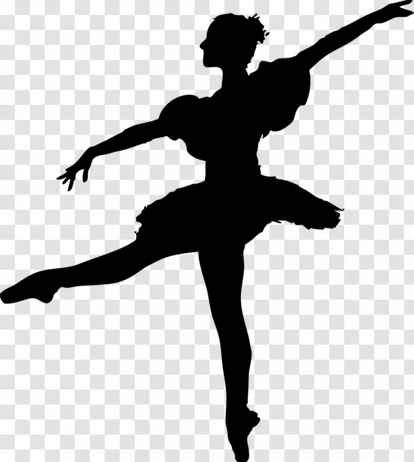 Ballet Dancer Silhouette Hip Hop Dance Footwear Transparent Png