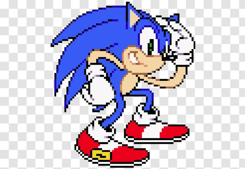 Sonic The Hedgehog Pocket Adventure Knuckles Echidna Dash Pixel Art Transparent Png