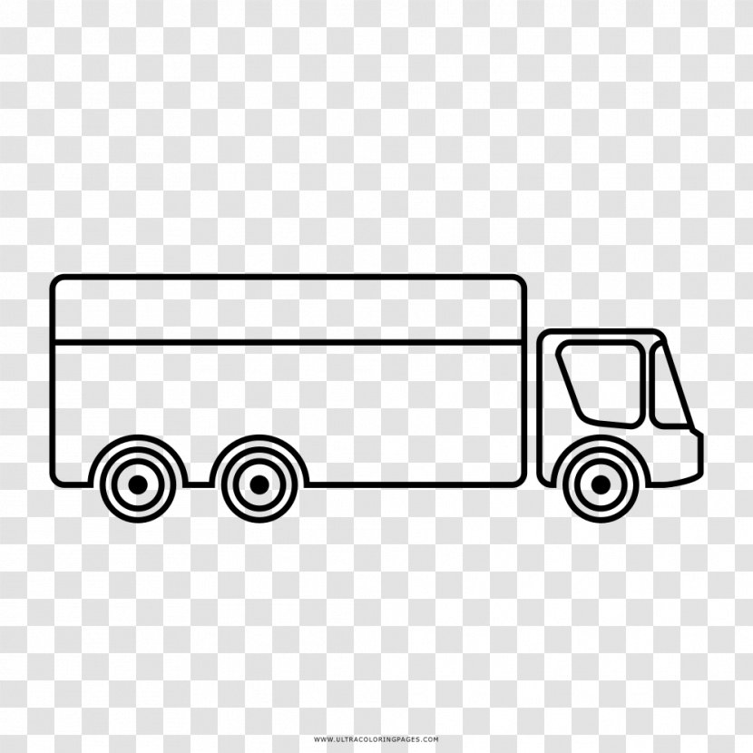 Pickup Truck Motor Vehicle Mover Drawing Ausmalbild Transparent Png