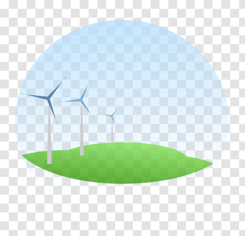 Windmill Wind Turbine - Sustainability - Blue Energy Cliparts Transparent PNG