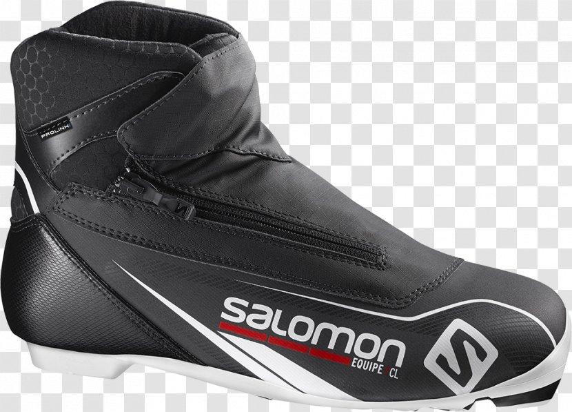 Footwear Salomon Group Skiing Boot - Black Transparent PNG