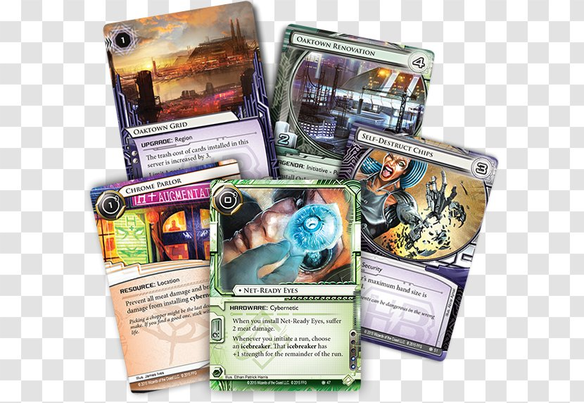 Card Game Android: Netrunner - Android Transparent PNG