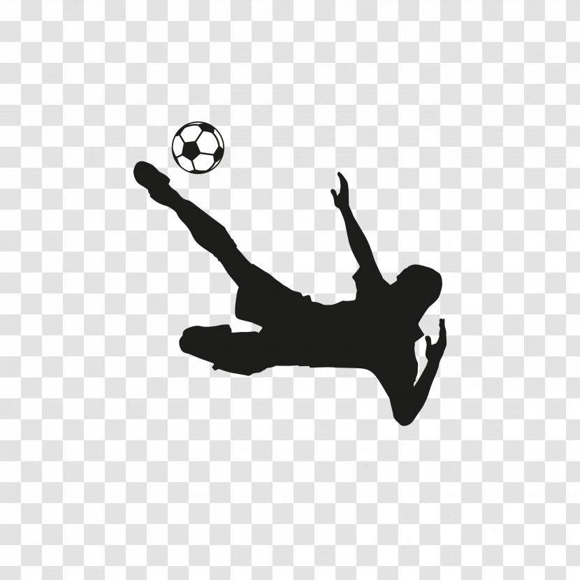 Football Player American Team - Monochrome - Players Silhouette Transparent PNG