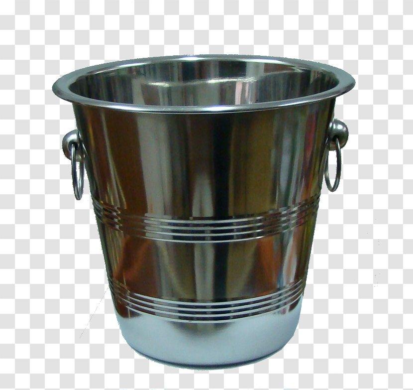 Metal Bucket - Glass Transparent PNG