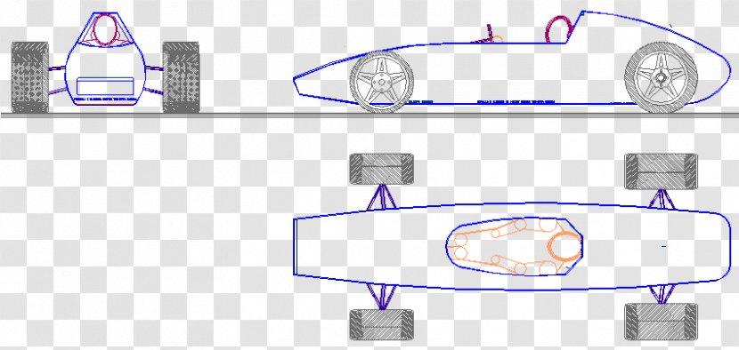 Automotive Lighting Line Point Angle - Diagram - Open Wheel Car Transparent PNG