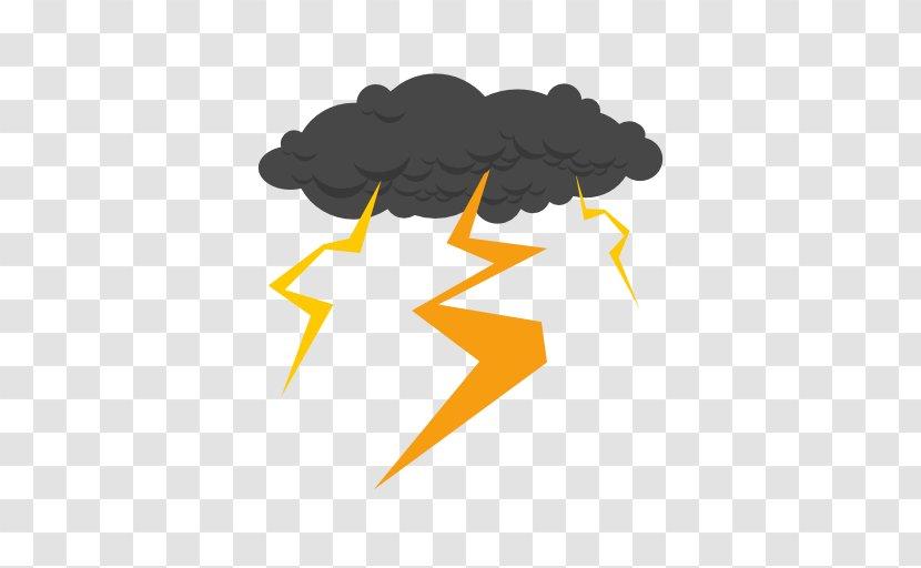 Thunderstorm Lightning Cloud Rain - Season Transparent PNG
