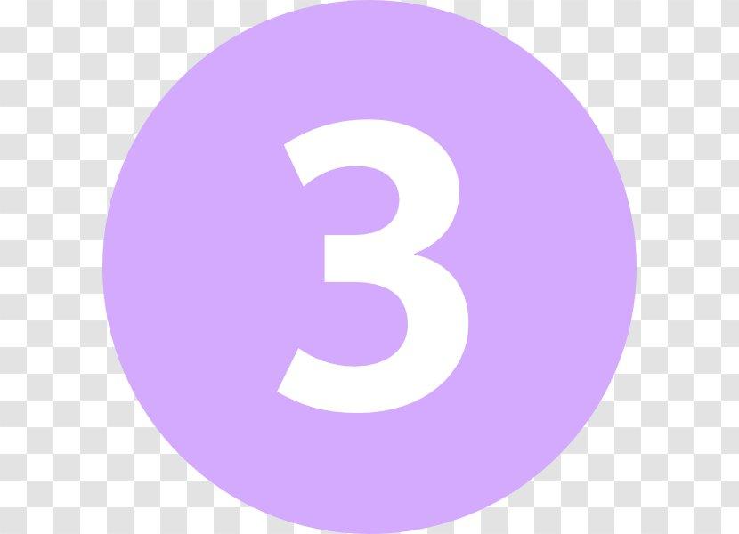 Paris Métro Line 3bis Logo Rapid Transit - Purple - Number Transparent PNG