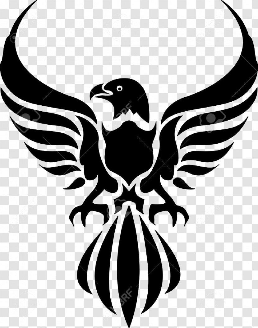 Phoenix Bird Eagle Falconiformes Emblem Transparent Png