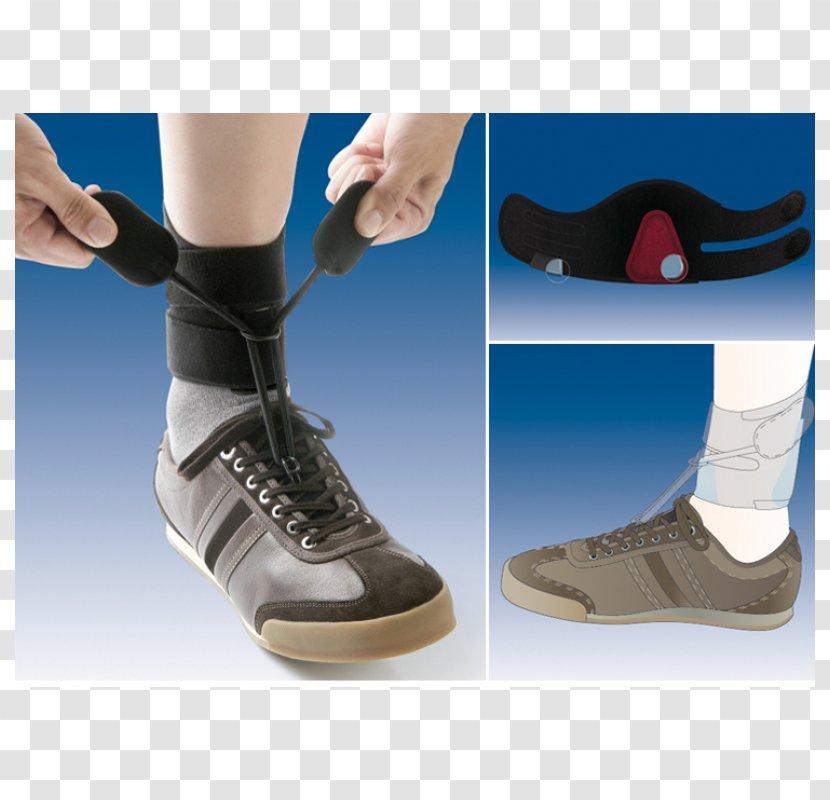 Ankle Orthotics Foot Drop Heel - Cartoon - Health Transparent PNG