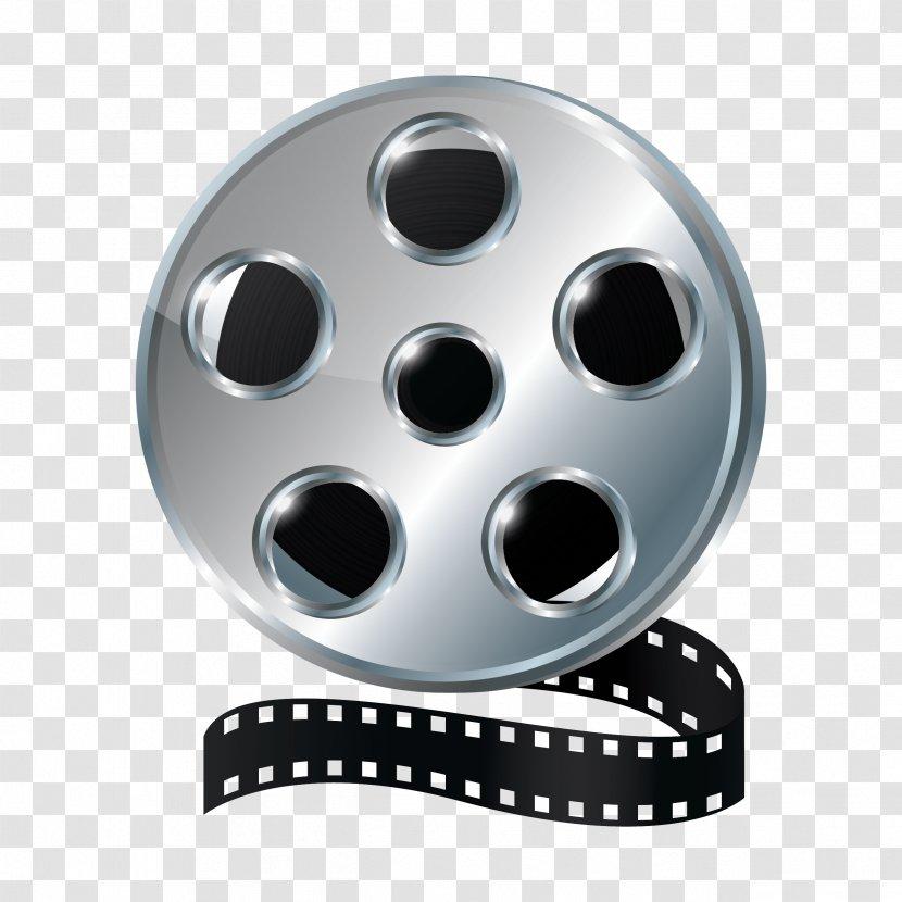 Film Reel Cinema Clip Art - Royaltyfree Transparent PNG