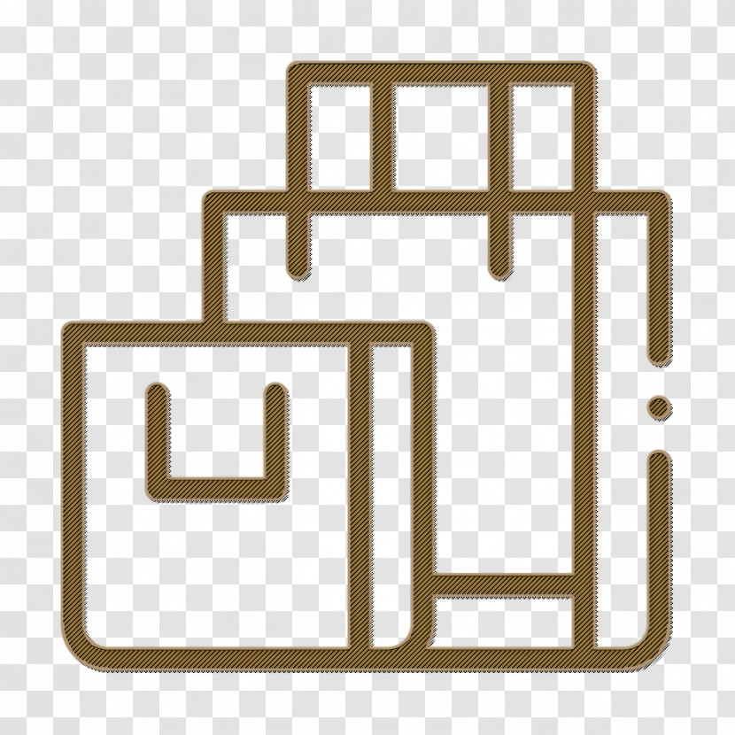 Online Shopping Icon Commerce And Shopping Icon Shopping Bags Icon Transparent PNG