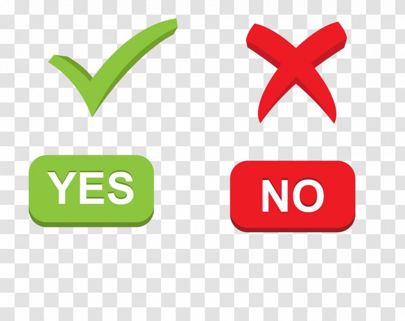 Check Mark Icon Design Download - Right And Wrong Transparent PNG