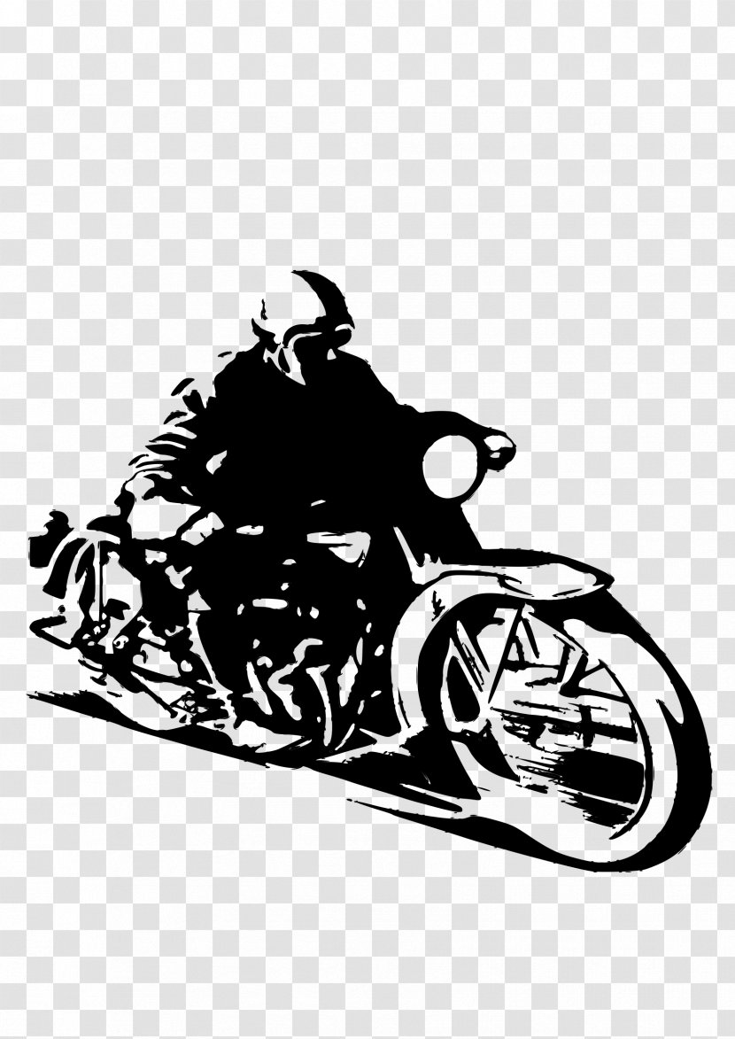 T Shirt Motorcycle Helmets Bmw Drawing Black And White Transparent Png